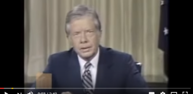 Some Direct Talking Inspiration From Jimmy Carter
